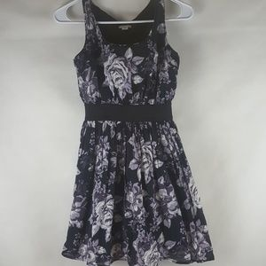 Xhilaration Extra Small Cotton floral summer Dress